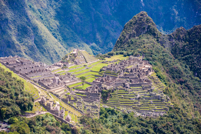 Machu Picchu is one of the most recognizable places of Peru.